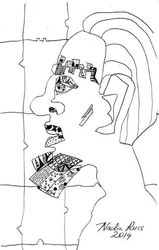nadia_russ_neopoprealism_face_6_ink_pen_pattern_drawing.JPG